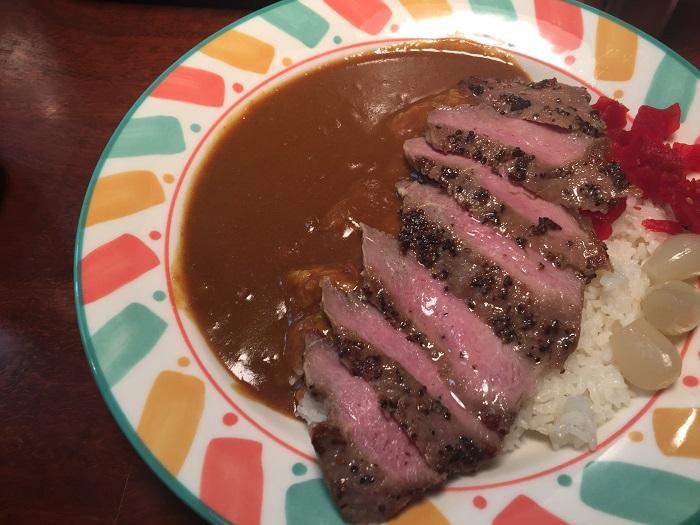 有楽町【ふくてい】美味い、安い、早い!コスパ最強ステーキカレー!