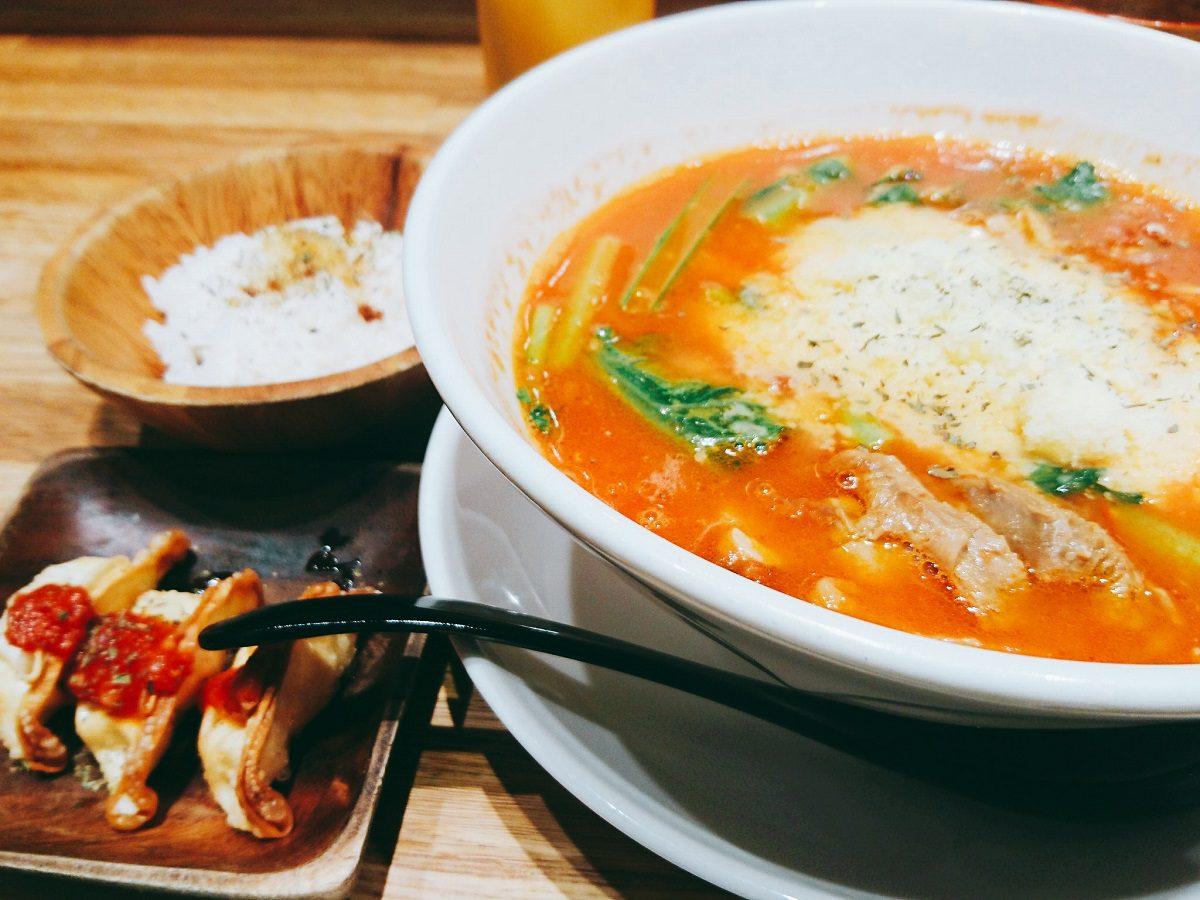 新宿【太陽のトマト麺】ラーメンでも美味でヘルシーな常識を覆す一品