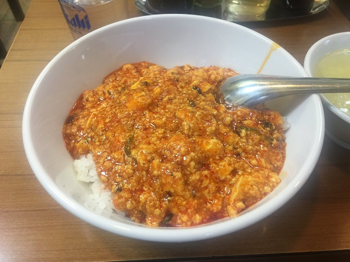 味芳斎 中華丼