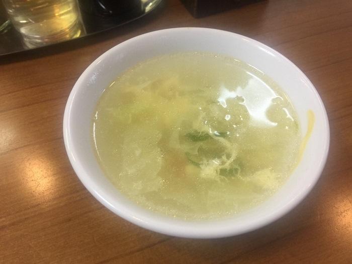 味芳斎 スープ