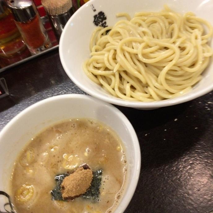 北新地 紋次郎 つけ麺