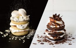 【パンケーキが今だけ半額でコスパ最強】今回は白と黒!この機会を見逃すな♪