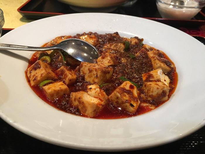 【激辛激うまランチ、四川料理屋天府】激戦区神田の麻婆豆腐でひと汗かきましょう。