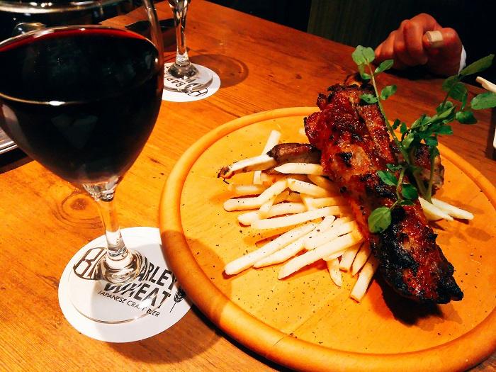 お肉とワインも合います