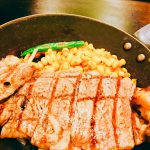 【笑くぼ 福島店】ゆっくり・がっつりサーロンインステーキランチ