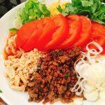 【八丁堀 紅虎餃子房】暑さに打ち勝つ!真夏にピッタリの冷やしトマト冷麺