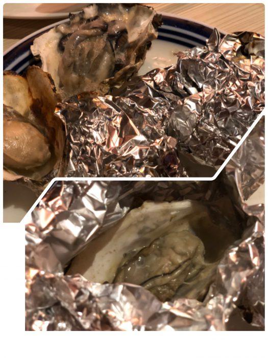 蒸し牡蠣&焼き牡蠣