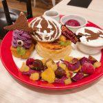 【豊洲 パンケーキ】ハロウィンフェア中!ふわふわスフレパンケーキ