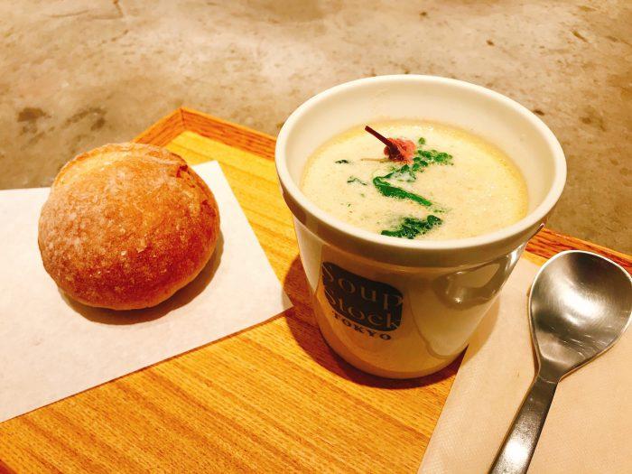 【銀座】ひとりの時間をおしゃれにあたたかく Soup Stock Tokyo